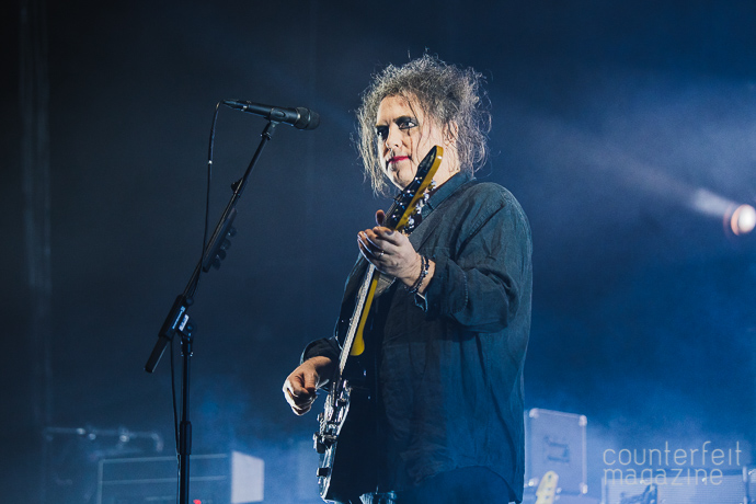 01 20161129 The Cure Andrew Benge | The Cure: Manchester Arena, Manchester