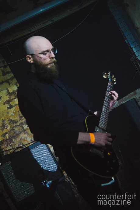 03 20160221 Esben The Witch Phil King | Esben & The Witch: Soup Kitchen, Manchester