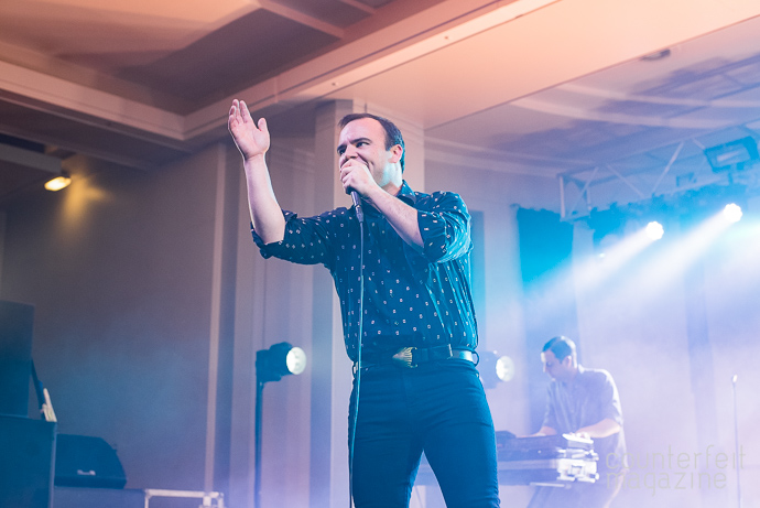 06 20170428 Future Islands Aidan Wyldbore | Future Islands: Refectory, Leeds